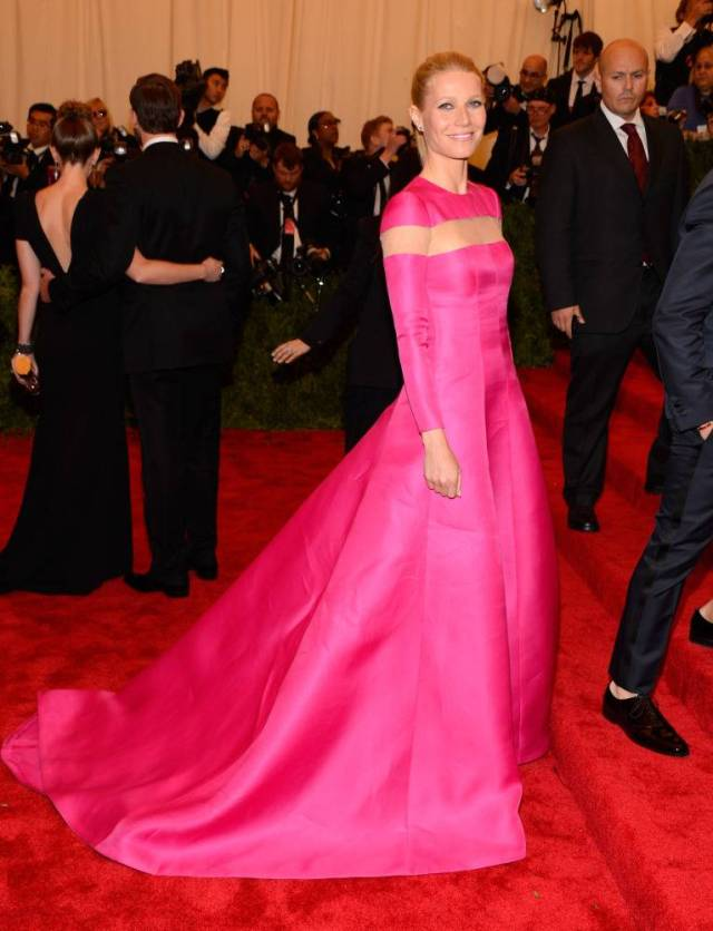 The He Said She Said Experience- Best Dressed 2013- Gwyneth Paltrow in Valentino 2013 Met Gala