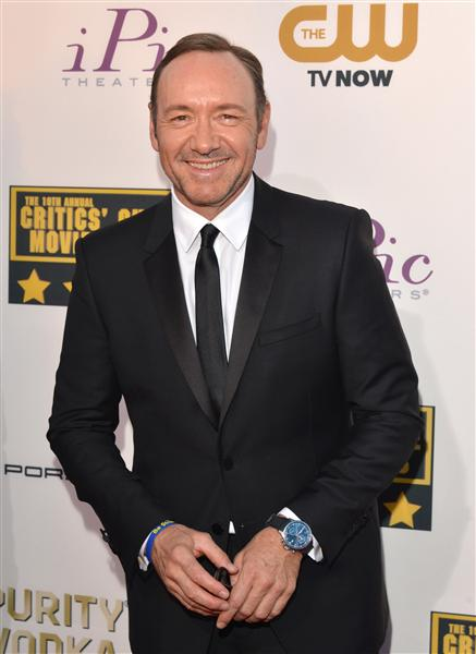 The He Said She Said Experience- 2014 Critics' Choice Movie Awards Best Dressed- Kevin Spacey