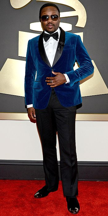 The He Said She Said Experience- 2014 Grammy Awards Best Dressed- Anthony Hamilton