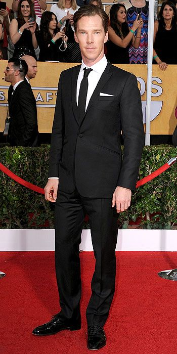 The He Said She Said Experience- 2014 SAG Awards Best Dressed- Benedict Cumberbatch