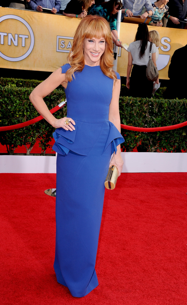 The He Said She Said Experience- 2014 SAG Awards Best Dressed- Kathy Griffin