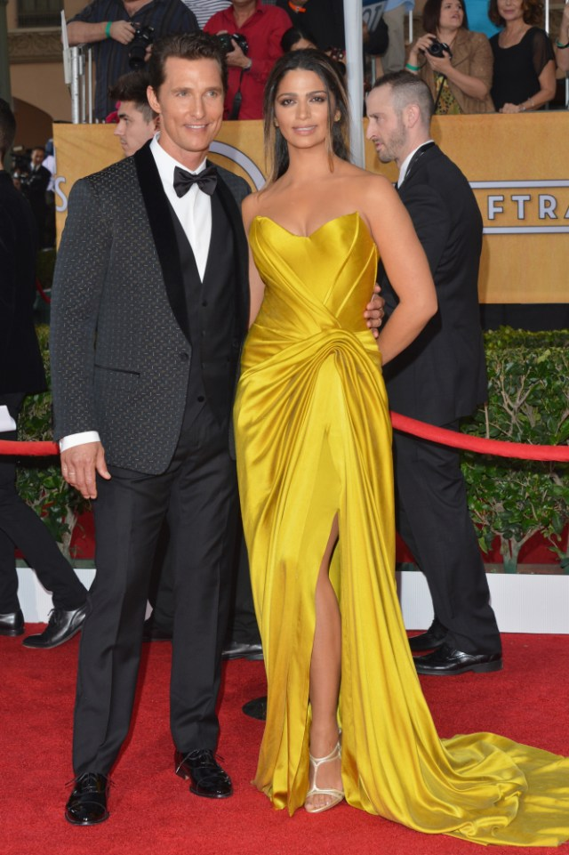 The He Said She Said Experience- 2014 SAG Awards Best Dressed- Matthew McConaughey