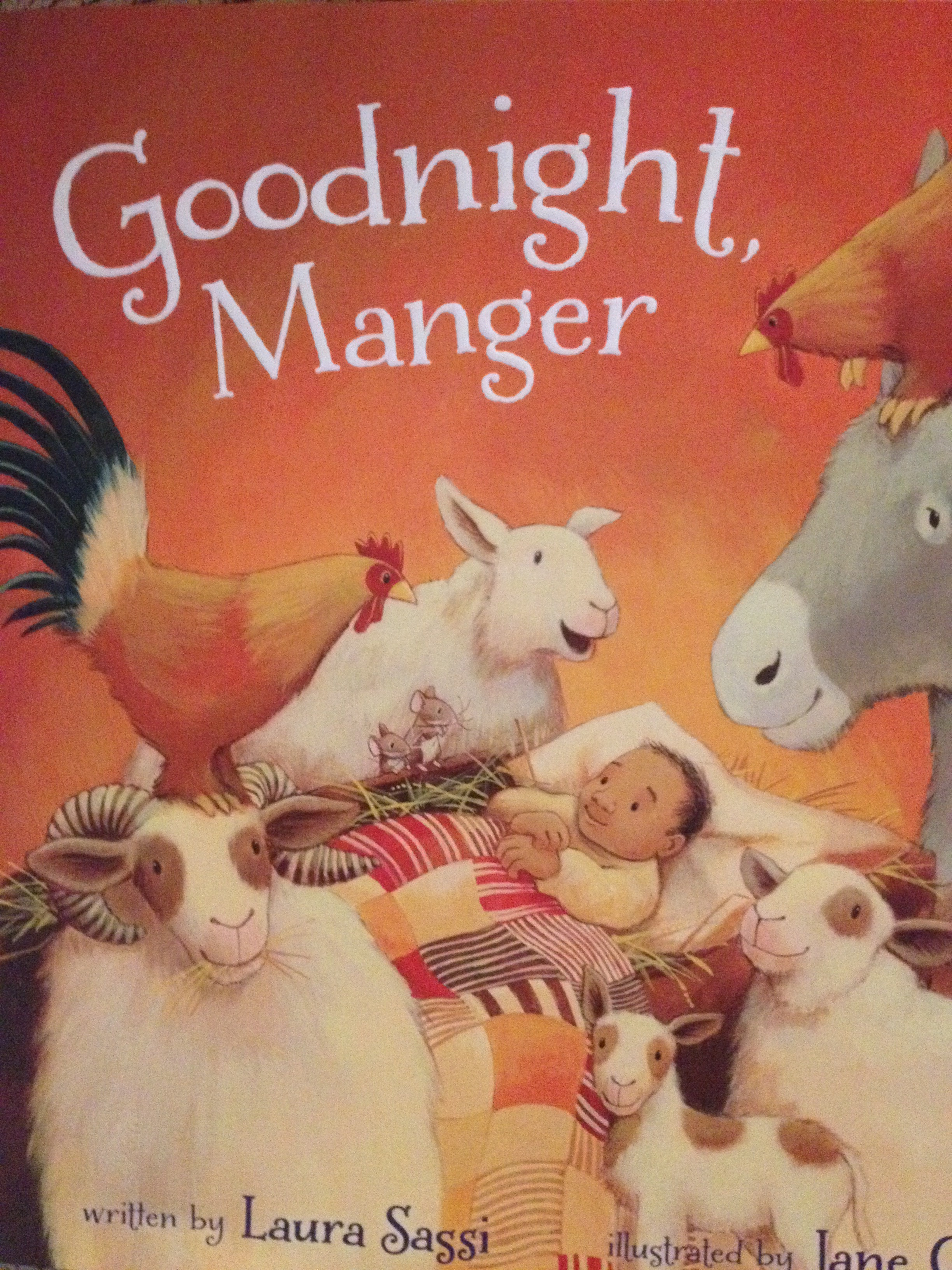 Goodnight, Manger by Laura Sassi: Book Review