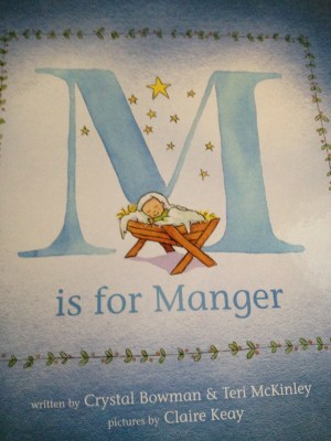 M is for Manger: Book Review