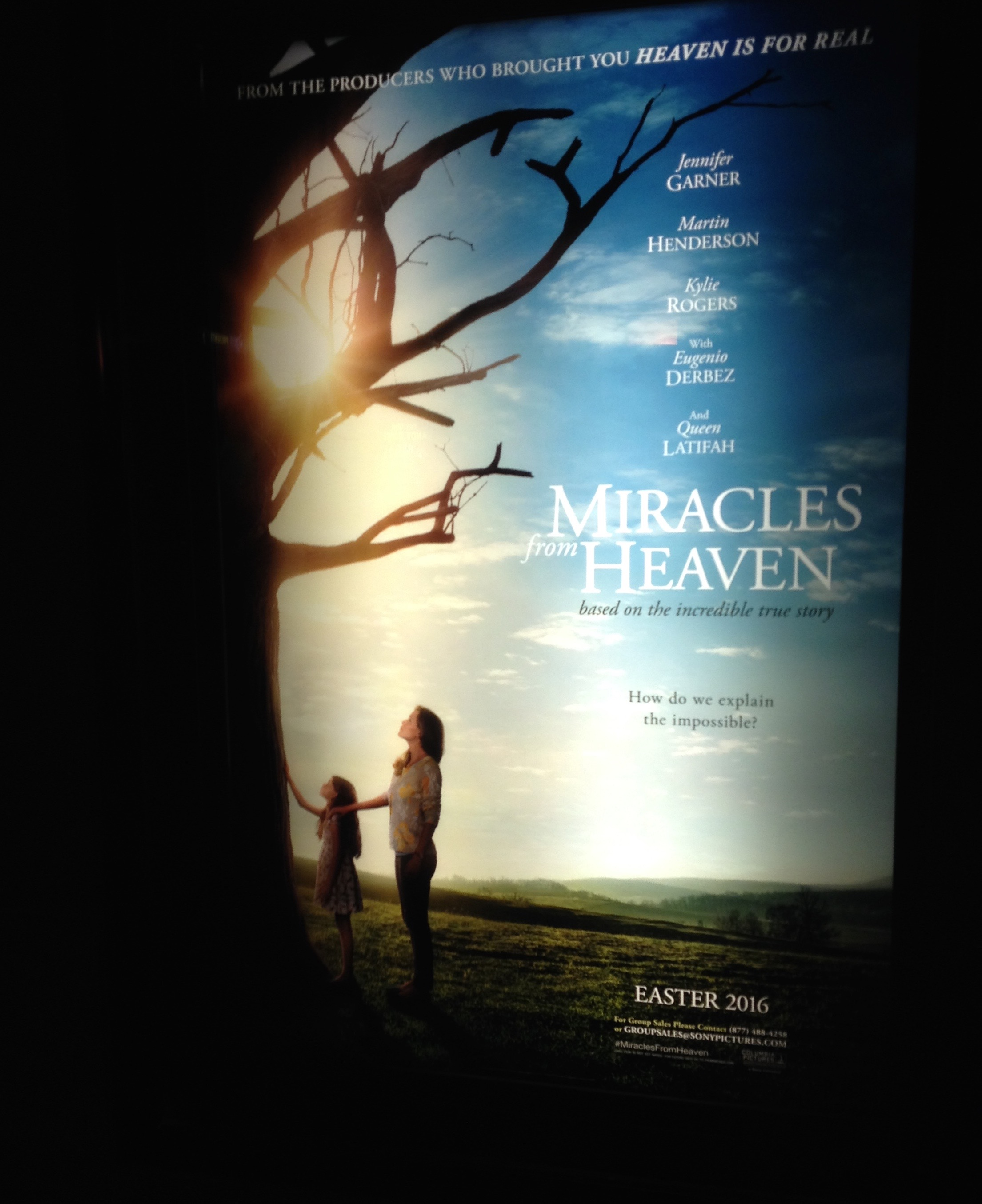 Miracles from Heaven: Film Review by The He Said She Said Experience