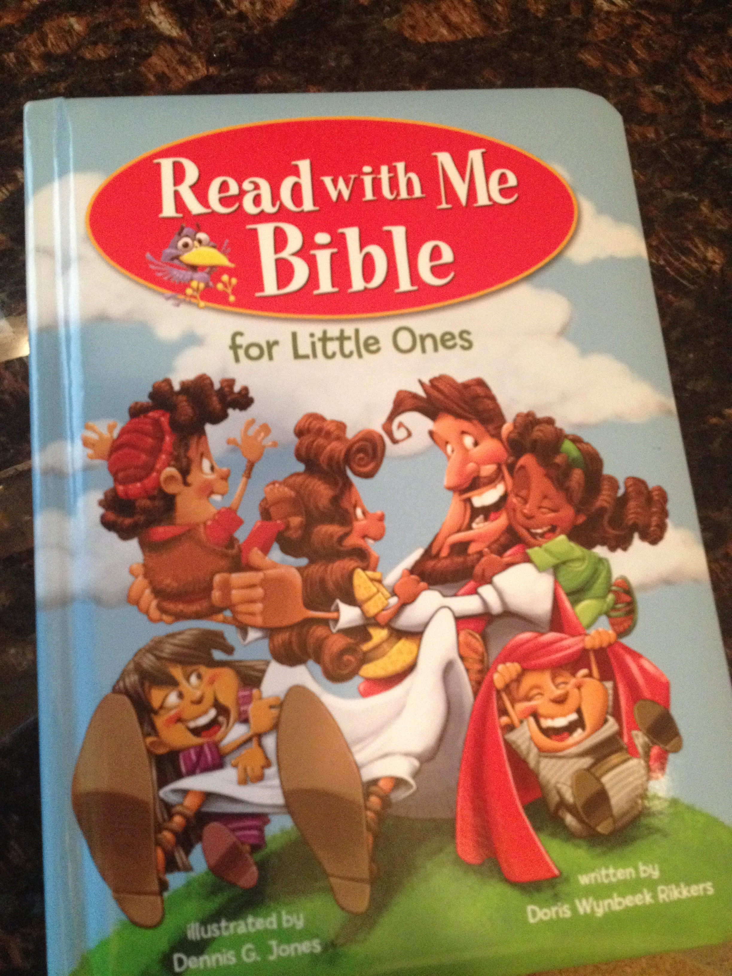 Read with Me Bible for Little Ones- Book Review by The He Said She Said Experience