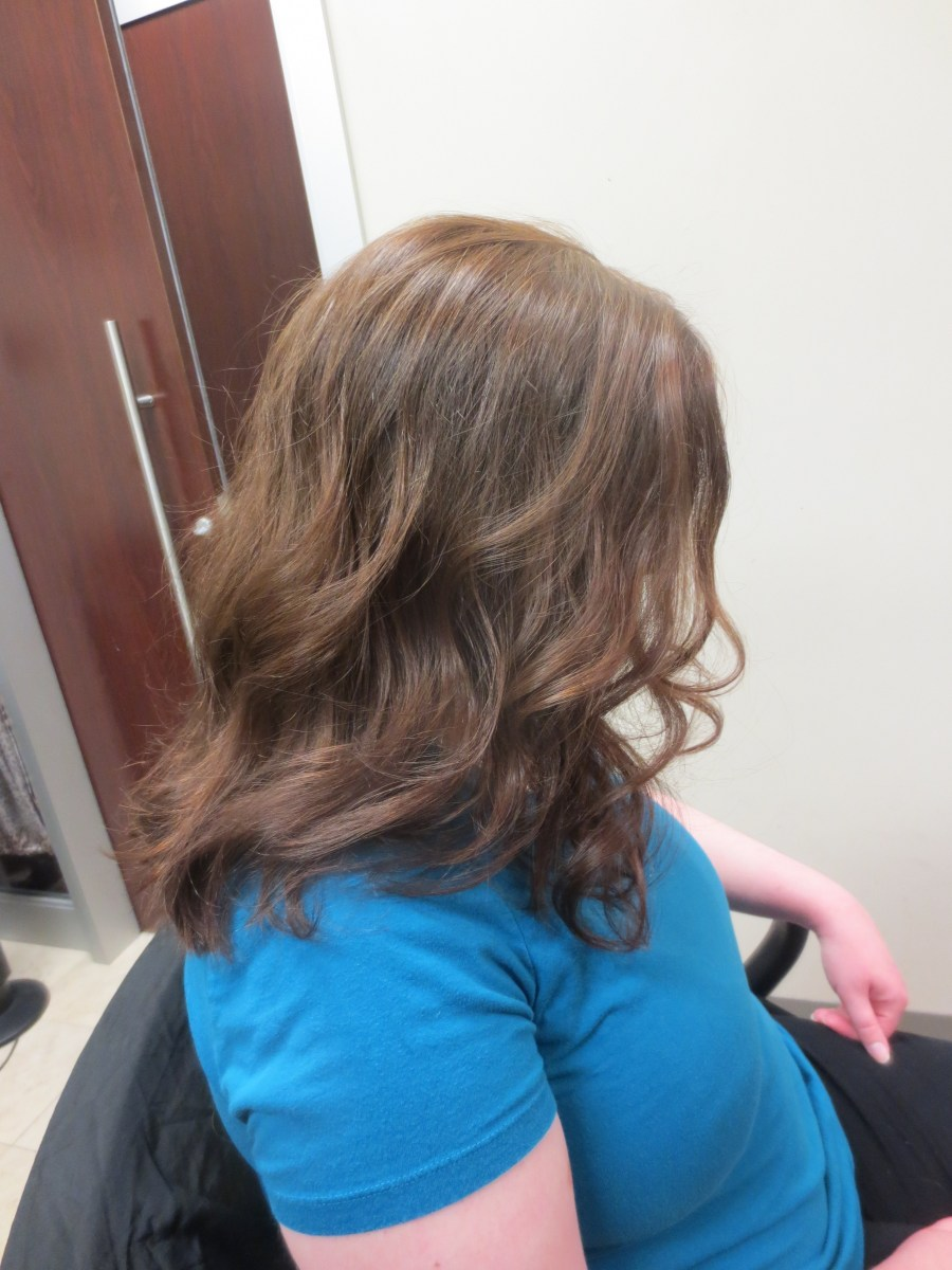 Dare to Dream Hair: New Mommy Cut and Color
