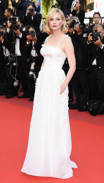 Kirsten Dunst in Dior Haute Couture- Best Dressed 2016 Cannes Film Festival by The He Said She Said Experience