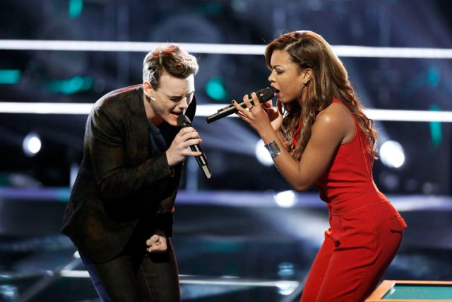 Clinton Washington & India Carney The Best of The Voice Season Eight Playlist by The He Said She Said Experience
