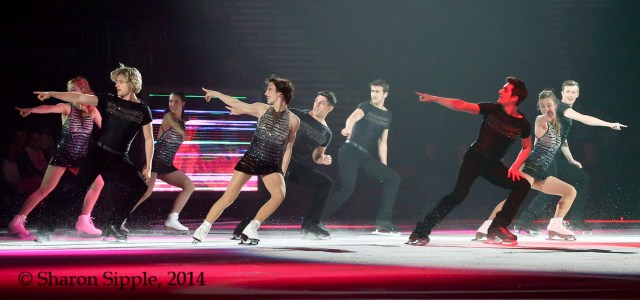 The He Said She Said Experience- The 2014 Stars on Ice cast credit: Sharon Stipple/ Stars on Ice