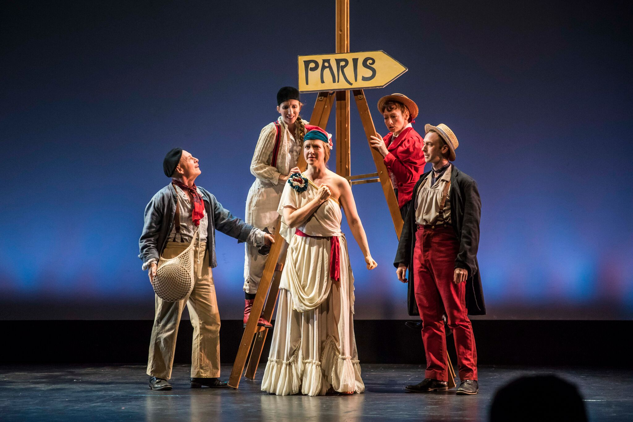 Bon Voyage! A Happenstance Escapade- Review by The He Said She Said Experience