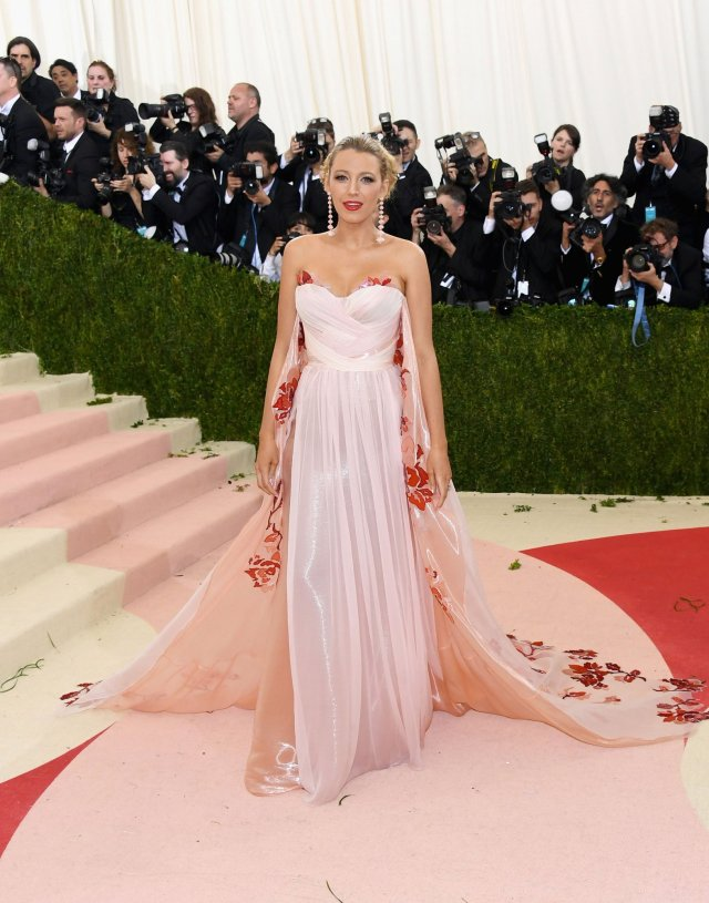 Blake Lively in Burberry : Best-Dressed 2016 Met Gala by The He Said She Said Experience