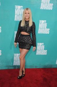 julianne hough 2012 mtv movie awards