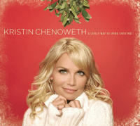 """Our favorite """"fun"""" Christmas album, Kristin Chenoweth's """"A Lovely Way to Spend Christmas""""- image from wikpedia"""