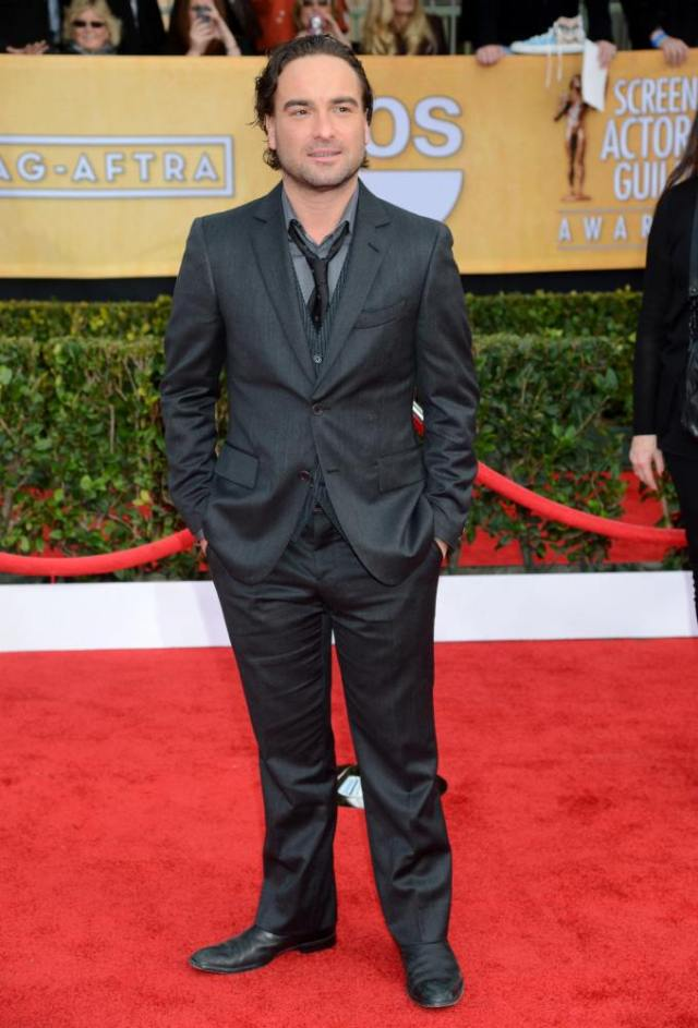 johnny galecki 2013 SAG awards