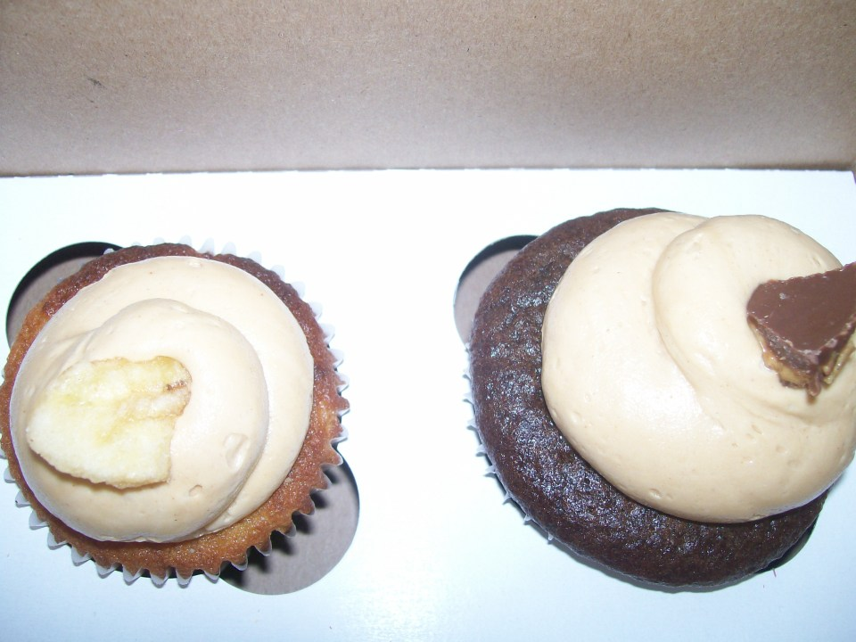 from left: The Elvis and Peanut Butter Cup