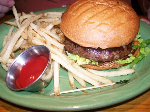 Sweetwater Tavern's Hickory BBQ Burger