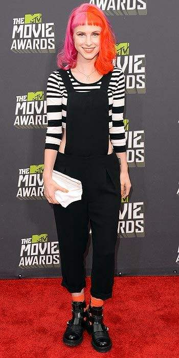 hayley williams 2013 mtv movie awards