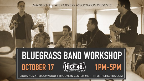 MN Fiddlers Assoc. - Bluegrass Band Workshop 2015