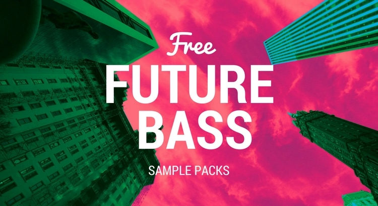 Future Bass Free Samples packs