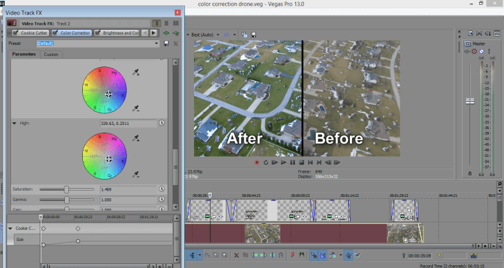 Color Grading/Correction