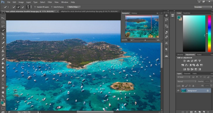 selection photoshop tips and tricks