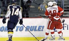 Wings Stave Off Preds 5-3