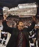 John Tortorella with the Stanley Cup