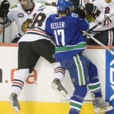 Miller Could be Kesler-lite (UPI Photo/Heinz Ruckemann)
