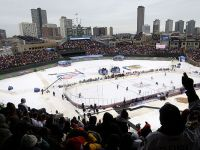 Wrigley Field, Decked Out for the Winter Classic