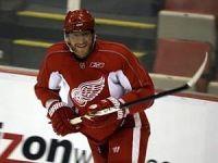 Marian Hossa with the Detroit Red Wings (Julian Gonzalez/DFP)