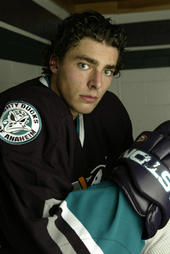 Joffrey Lupul in his original Ducks duds