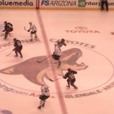 Coyotes vs Stars November 27th - Photo by Sharon Murphy