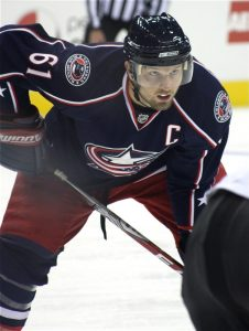 Columbus captain Rick Nash (Photo by Elisalou Designs/Flickr)