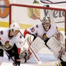 Elliott first appeared in the NHL as a Senator (Dan4th on Flickr)