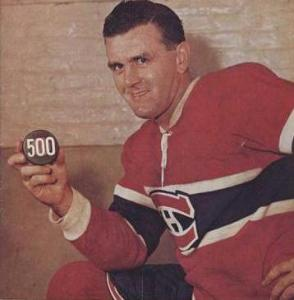 500 goals in the NHL Richard hockey
