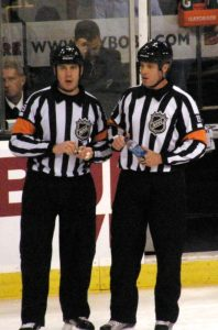 The NHL officiating has been in question since the start of the season (Flickr/Dan4th)