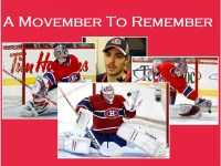 A Movember To Remember for Carey Price