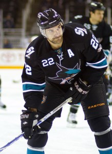 Dan Boyle is struggling this season, and so are the Sharks (Photo by Vu Ching).