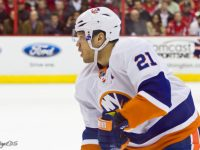 Kyle Okposo might be on the trade chopping block. (BridgetDS/Flickr)