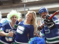This Vancouver Canucks fan may have the stuff, but her team fell short in bringing the cup back to Canada. (Icon SMI)