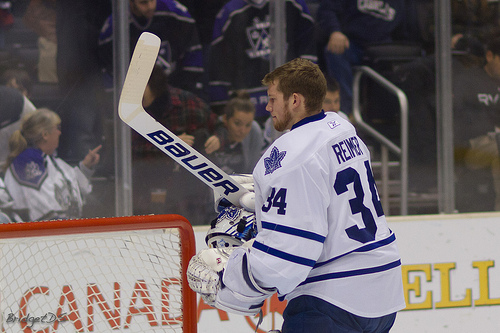 The future for James Reimer as a Maple Leaf could be in jeopardy (bridgetds, Flickr)
