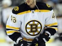David Krejci, the Stanley Cup Playoff's leading scorer. (Icon SMI)