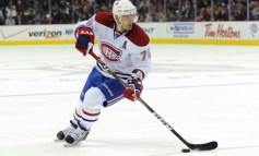 Markov Scores Five Points While Hitting Canadiens Milestone