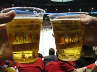Molson has taken over the NHL beer sponsorship from Labatt for a mere $375 million