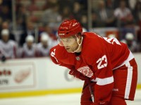 Brad Stuart with the Detroit Red Wings. (Icon SMI)