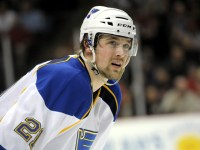Patrik Berglund may be on a line with David Backes and T.J. Oshie. (Icon SMI)