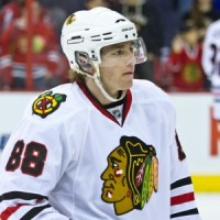 Harold Mush March and Patrick Kane Blackhawks