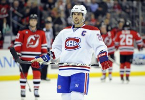Former Montreal Canadiens captain Brian Gionta