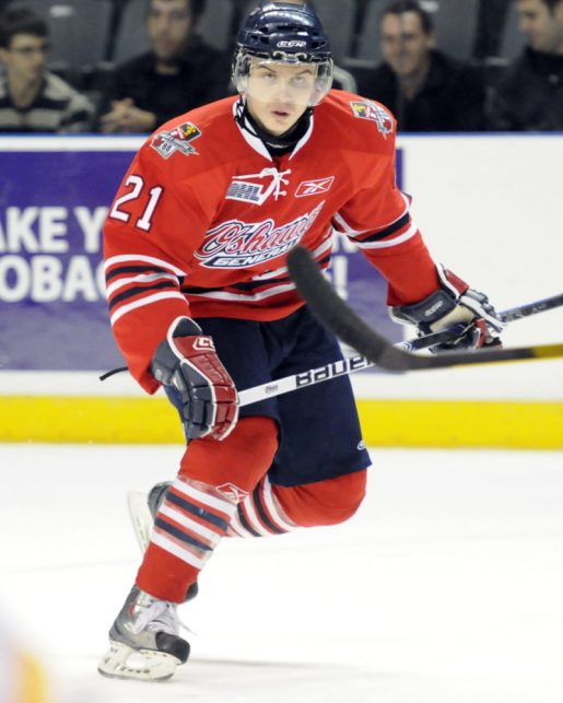 Generals' Laughton has the talent to become a draft riser (Aaron Bell/CHL Images)